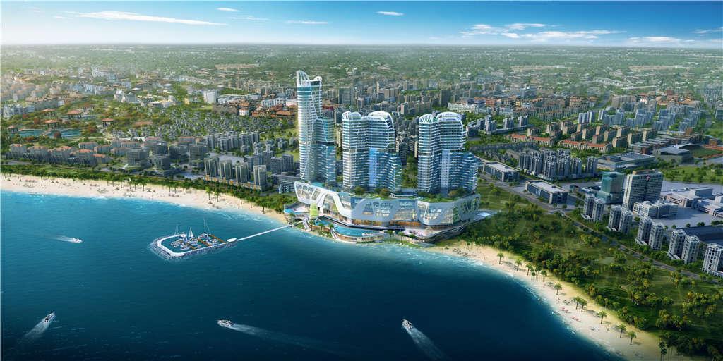 柬埔寨西港期房《太子天玺湾》